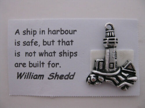card and jewelry making Sailing charms for scrapbooking 7 charms and quotes