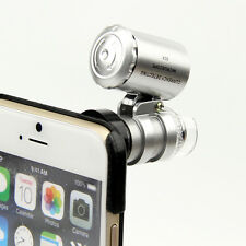 """60x Zoom Magnify Lens Microscope with LED UV Light & Case Kit for 4.7"""" iPhone 6"""
