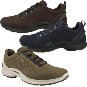 Details zu Ecco Biom Fjuel Schuhe Natural Motion Herren Sneaker Halbschuhe Schnürer 837534