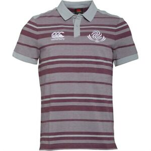 classic fit factory price detailed look Canterbury Georgia Rugby Men's Jacquard Polo Shirt - M-3XL - New ...