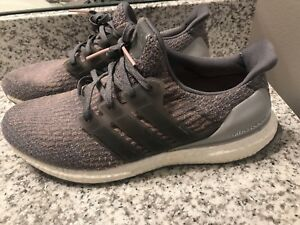 new arrival 2d6e7 48941 Image is loading Adidas-Ultra-Boost-3-0-Primeknit-Gray-Trace-