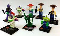 Toy Story Woody Buzz Lightyear Zurg Alien 8 Mini Figure Build Toy Fits With Lego