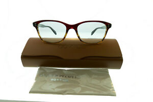 78542bd4fa Image is loading Oliver-Peoples-Ashton-Womens-RX-Eyeglasses-Red-Tortoise-