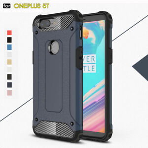 Image Is Loading For Oneplus 5t Hard Case Rugged Armor Shockproof