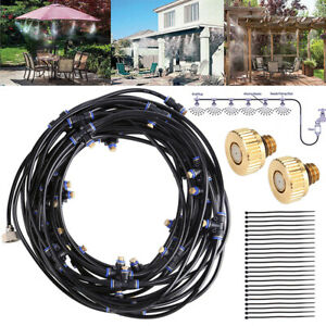 5-20M-Outdoor-Misting-System-Reptile-Cooling-Water-Garden-Patio-Spray-Sprinkler