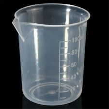 2410 Pc Small 100ml Measuring Cup Plastic Jug Beaker For Kitchens Lab Spares