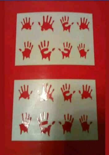 1//10 RC Crawler ZOMBIE Stickers crawler scx10II rc4wd tf2 d90 mst cfx cmx trx4