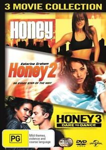Honey-1-Honey-2-Honey-3-Dare-To-Dance-NEW-DVD