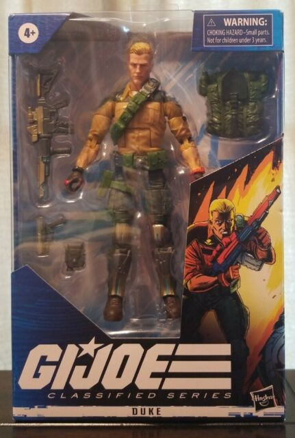 "Hasbro 6"" GI Joe Classified Series Wave 1 DUKE"