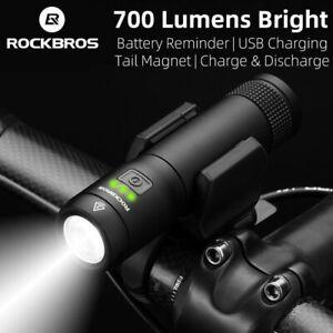 Rockbros-lumiere-magnetique-700-lm-Velo-Lumiere-Rechargeable-USB-Impermeable-Velo