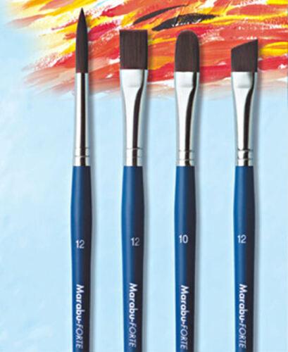 Marabu-Pinsel Forte flach diverse Größen
