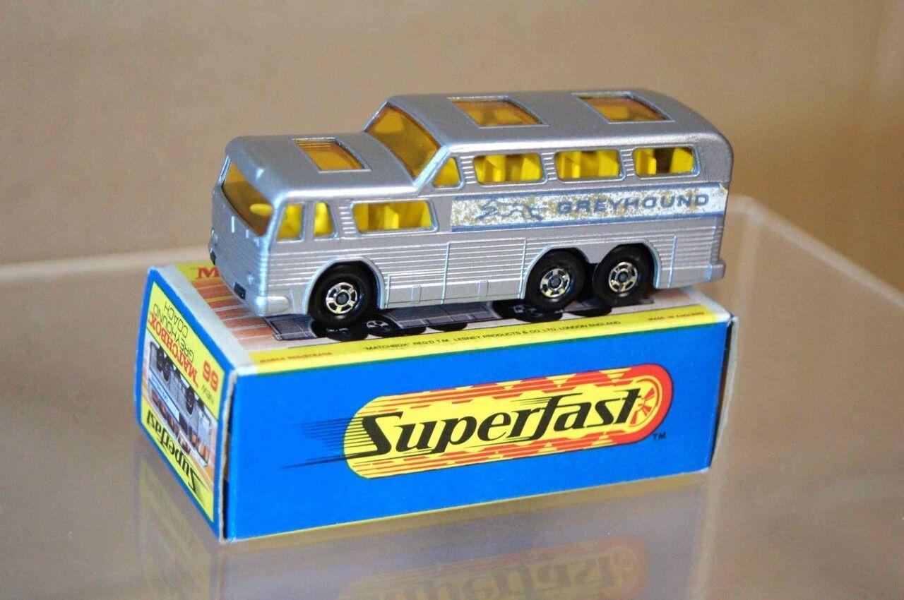 Matchbox Superfast 66 grigiohound Autocar Nuevo Empaquetado