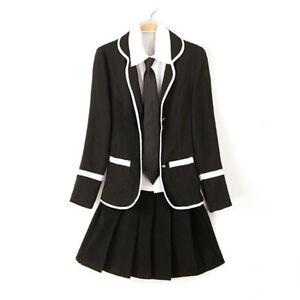 Anime School Girl Uniform Cosplay