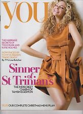 You Magazine 9 December 2007,UK, Tamsin Egerton cover, Lisa Butcher