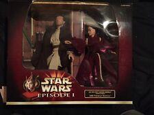 Star Wars Episode I Qui-Gon Jinn & Queen Amidala 2000 Portrait Edition Figures