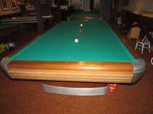 Charmant Image Is Loading 10 039 Brunswick Anniversary Billiards Pool Table With