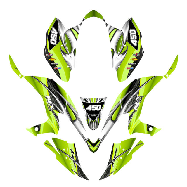 TRX250R Graphics TRX 250R 250 R racing deco sticker kit #3333 Blue