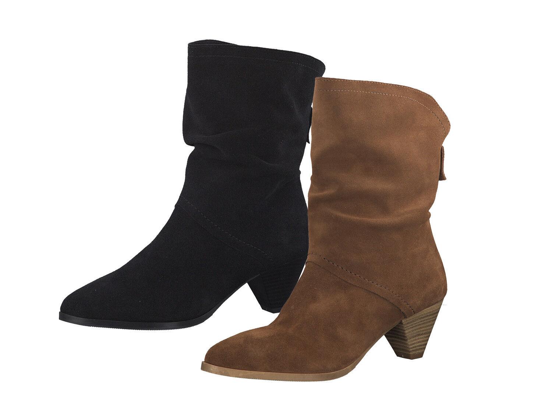 Tamaris 1-25745-31 Schuhe Damen Stiefel Leder Stiefeletten