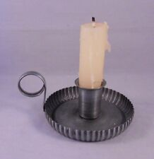 Ol' Taper Holder, Metal Vintage-Style Taper Candle Holder with Handle