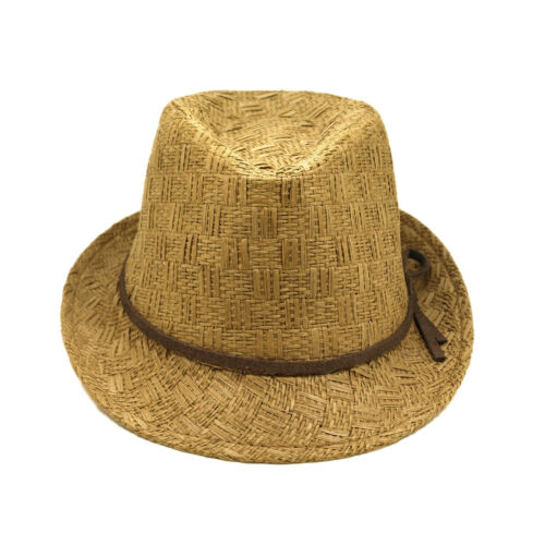 Fedora Straw Hat 6-12 Young Adult Teen/'s Different Colors Available