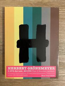 Seltenes-3-DVD-Set-Herbert-Groenemeyer-12-Live-Wie-Neu-OVP-ueber-3-Std