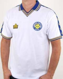 783e3987 Leeds United 1978 Admiral Retro Football Shirt in White - official ...