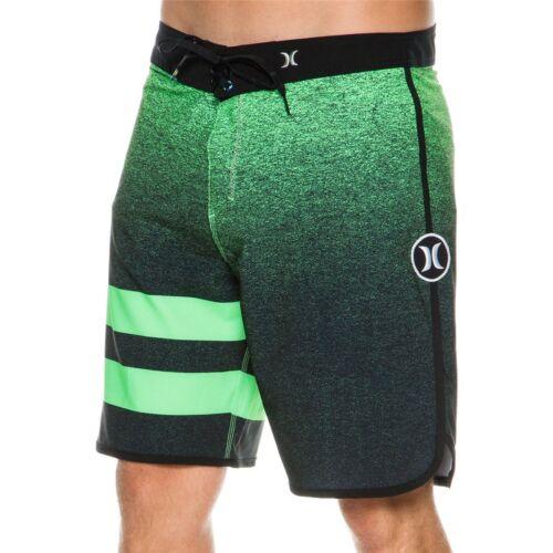 NWT Hurley Men/'s Phantom Julian BoardShorts Size 40 Green//Black