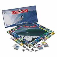 Monopoly Surfing Edition Sealed Usaopoly Retired Pewter Tokens 2008 Game