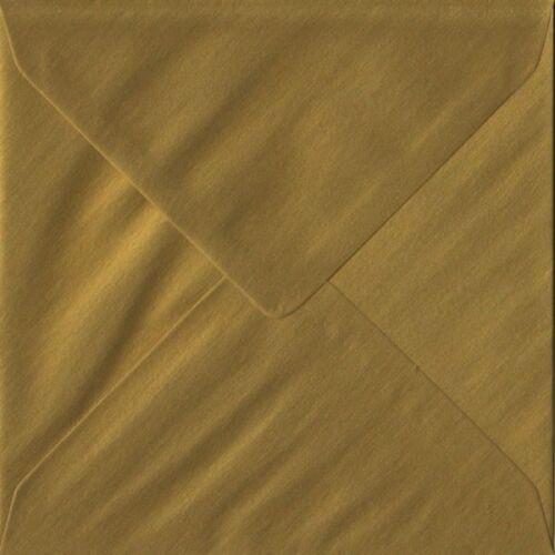 Square Couleur Enveloppes Pour Cartes de voeux Fête Invitations Crafts 5x5 /& 6x6