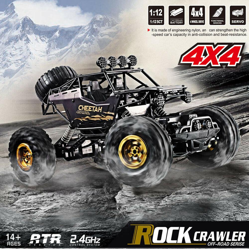 cooles RC Fahrzeug Formel 1 Rennauto Racing Car Auto 1:12 Black C-WARE