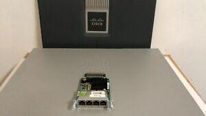 CISCO-EHWIC-4ESG-4-Port-Gigabit-WAN-Interface-Card-1900-2900-3900-3900E-Router