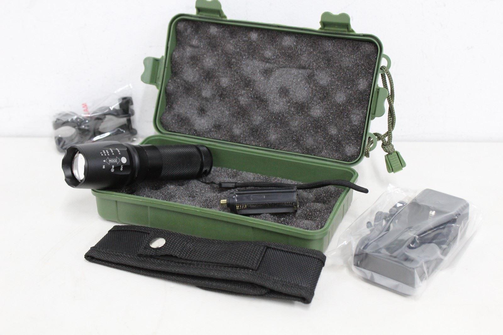 NEW LEDEAK 1200 Lumen Long Range Rechargeable Torch High Power LED Flashlight