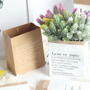 Eg langlebig kraftpapier topf pflanze blumentopf beutel for Blumentopf korb