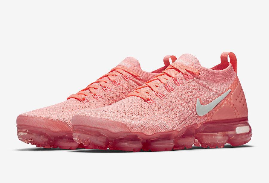 Size 10.5 - Nike Air VaporMax Flyknit 2 Rust Pink 2018