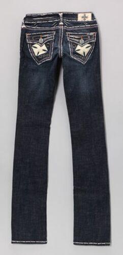 pantaloni di taglia un cl0344 dritta 23 bianchi paio impreziosita da gamba a Jeans Beach Laguna wqRx8Bx
