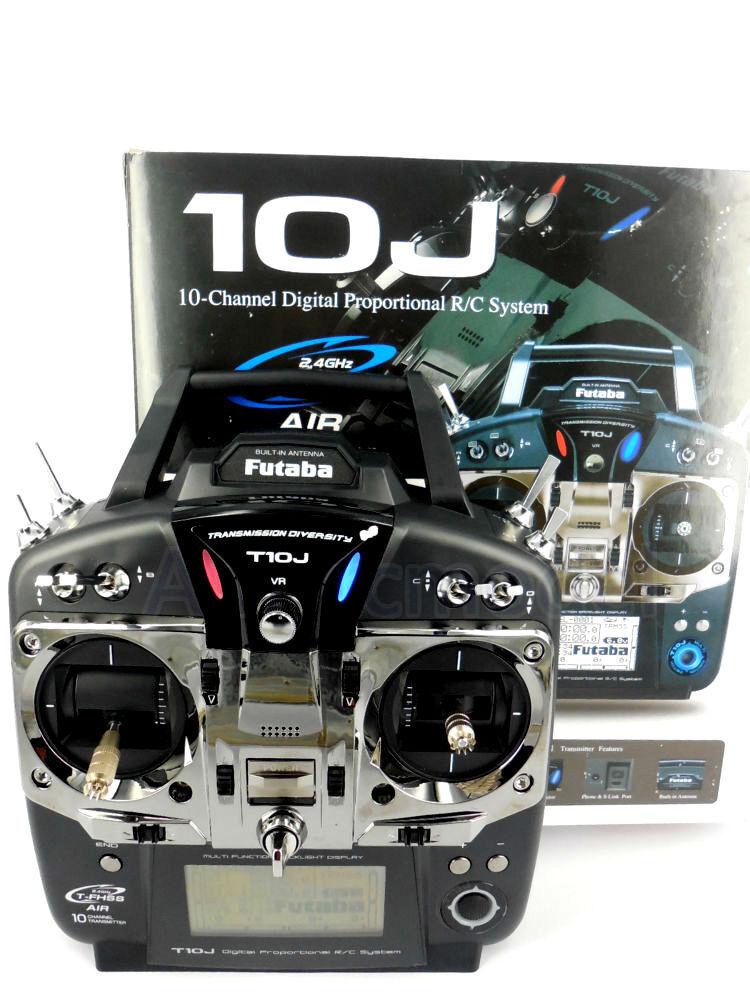 Futaba 10JH 10J 10CH 2.4GHz T-FHSS S-FHSS Heli Radio System System System TX W R3008SB Sautobus RX ff6389