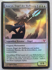Light Play Foil English 1x MTG Avacyn Restored Bonfire of the Damned