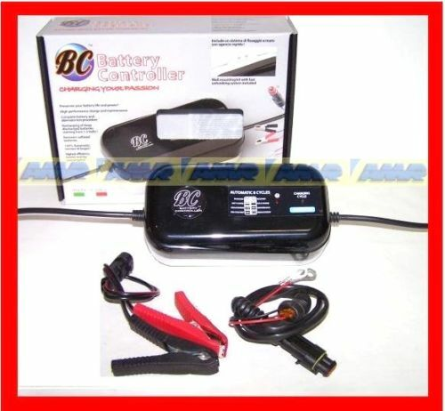 CARICA BATTERIA MANTENITORE CARICA Made ITALY MOTO BCJP BC K900 CAN BUS  BMW