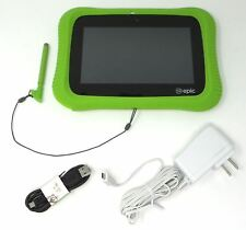 """LeapFrog Epic Academy Edition 7"""" Android Learning Tablet Green 602200 See Desc"""