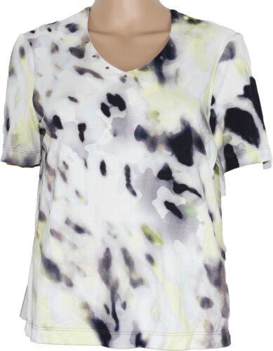 Gelco Damen Shirt kurz arm T-Shirt blau grau gelb UVP 44,95€