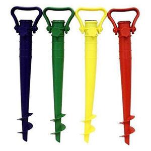 Vis-en-parasol-Reglable-Support-de-base-Parapluie-Ground-Spike-jardin-stand-NE8X