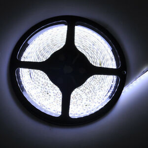 12V-5M-16-4FT-300Leds-5050-SMD-Cool-White-Led-Strip-Lights-Lamp-Ultra-Bright