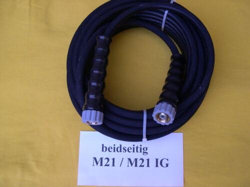 15m Profi Hochdruckschlauch für Wap M21x1,5 ÜW 210 bar 150°C DN 08