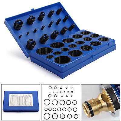 419 Pcs Rubber O Ring Oring Seal Plumbing Garage Set Kit 32 Sizes With Case 4-34