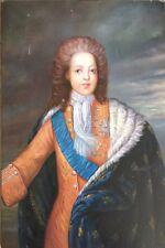 Original Oil On Canvas Of A Young Louis-Auguste De Bourbon (1710-1774). Louis XV