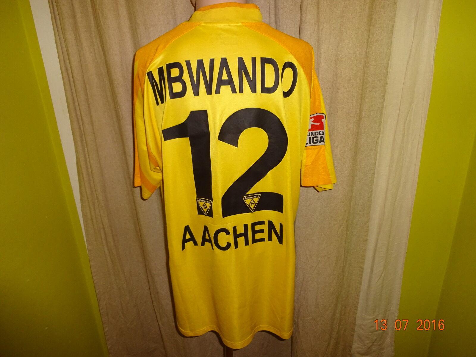 Alemannia Aachen Jako Matchworn Trikot 2003 04  A M  + Nr.12 Mbwando Gr.XL  | Shopping Online