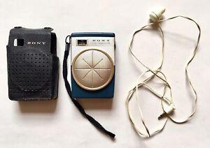 Vintage 1960's Pocket SONY TR-620 Six Transistor Radio MW (AM) WORKING
