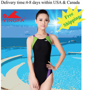 175a10523e9 Yingfa 976-1 one piece racing and training swimsuit for women Free ...