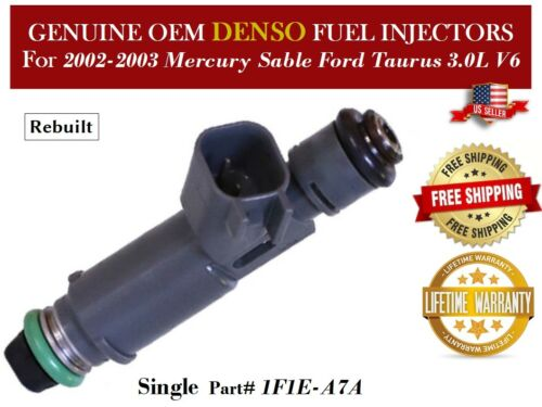 1 Fuel Injector OEM DENSO for 2002-2003 Mercury Sable Ford Taurus 3.0L V6
