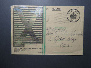 Great-Britain-WWII-1946-Ministry-of-Labor-OHMS-Cover-Z12280